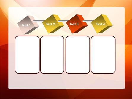 Orange Wave PowerPoint Template Slide 18