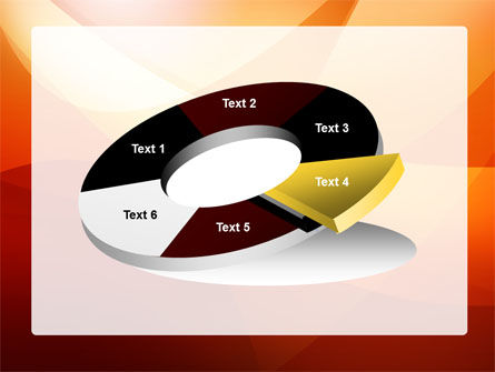 Orange Wave PowerPoint Template Slide 19