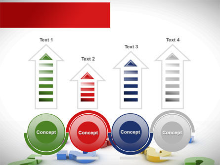 Question Marks In Various Colors PowerPoint Template Slide 7