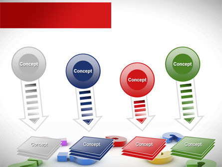 Question Marks In Various Colors PowerPoint Template Slide 8