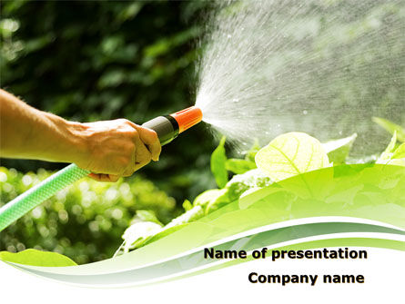 Agriculture: Horticulture Free PowerPoint Template #08642