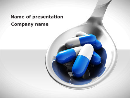 Business Concepts: Pharmacology PowerPoint Template #08643