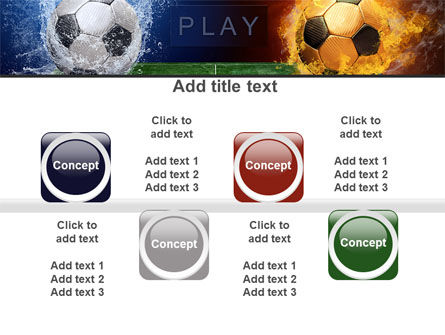 Football League Free PowerPoint Template Slide 18