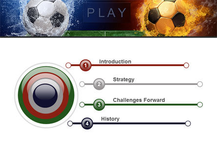 Football League Free PowerPoint Template, Slide 3, 08644, Sports — PoweredTemplate.com