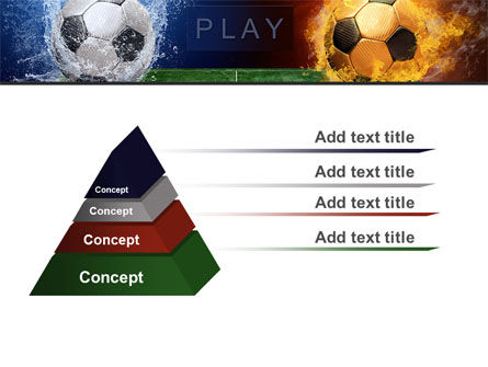 Football League Free PowerPoint Template, Slide 4, 08644, Sports — PoweredTemplate.com