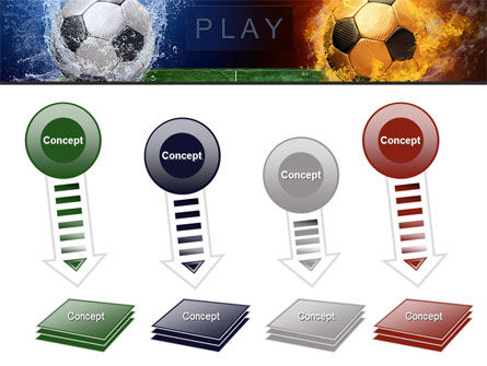 Football League Free PowerPoint Template Slide 8