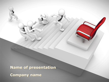 Careers/Industry: Promotion PowerPoint Template #08645