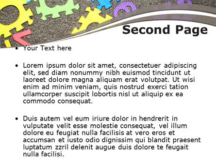 Cognitive Puzzles PowerPoint Template Slide 2