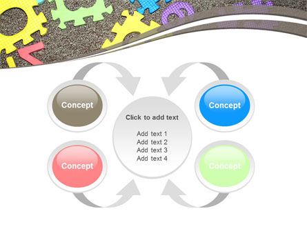 Cognitive Puzzles PowerPoint Template Slide 6