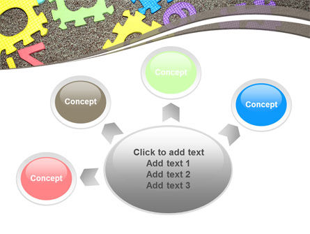 Cognitive Puzzles PowerPoint Template Slide 7