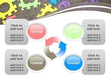 Cognitive Puzzles PowerPoint Template Slide 9