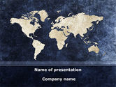 Business: Continents PowerPoint Template #08647