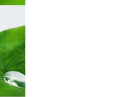 Morning Dew PowerPoint Template, Slide 3, 08648, Nature & Environment — PoweredTemplate.com