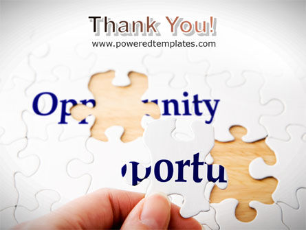 Opportunity PowerPoint Template Slide 20