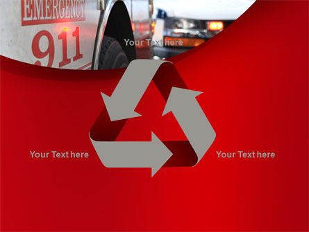 Emergency 911 PowerPoint Template Slide 10