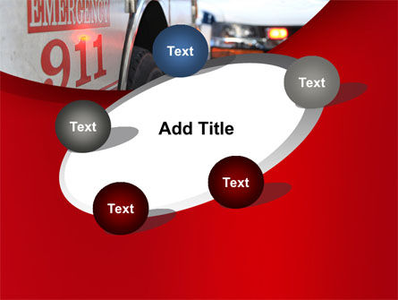 Emergency 911 PowerPoint Template Slide 14