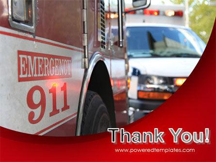 Emergency 911 PowerPoint Template Slide 20