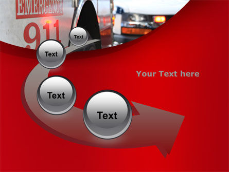 Emergency 911 PowerPoint Template Slide 6