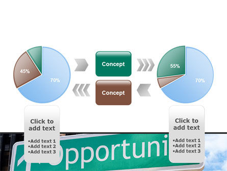Right Way PowerPoint Template Slide 11