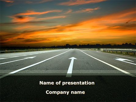Construction: Going Ahead PowerPoint Template #08654