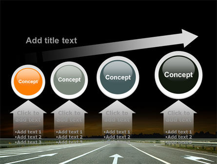 Going Ahead PowerPoint Template Slide 13