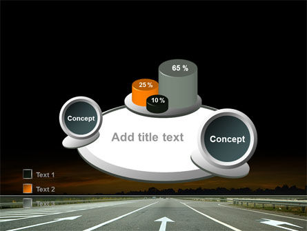 Going Ahead PowerPoint Template Slide 16
