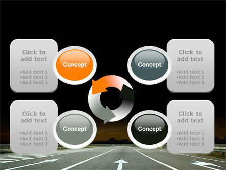 Going Ahead PowerPoint Template Slide 9