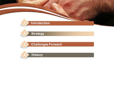 Mutual Help PowerPoint Template Slide 3