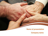 Religious/Spiritual: Mutual Help PowerPoint Template #08656
