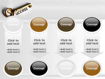 Key To Reach Success PowerPoint Template Slide 18