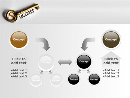 Key To Reach Success PowerPoint Template Slide 19
