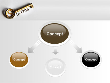 Key To Reach Success PowerPoint Template, Slide 4, 08657, Consulting — PoweredTemplate.com
