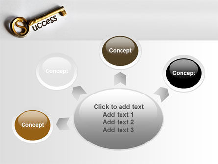 Key To Reach Success PowerPoint Template Slide 7