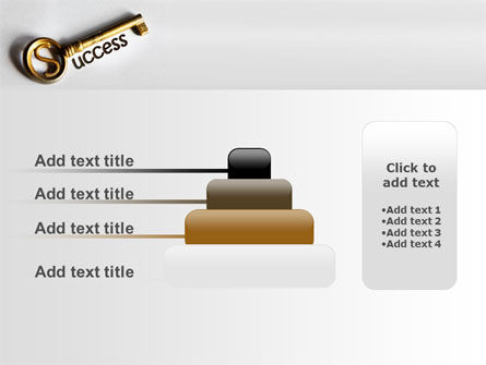 Key To Reach Success PowerPoint Template Slide 8