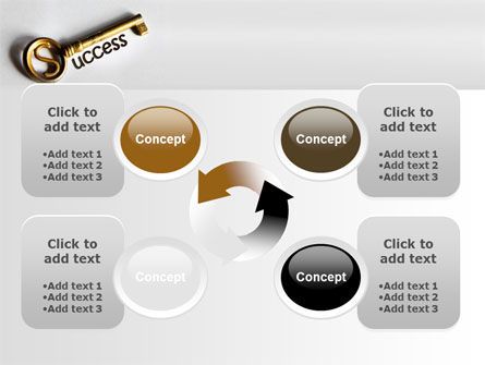 Key To Reach Success PowerPoint Template Slide 9