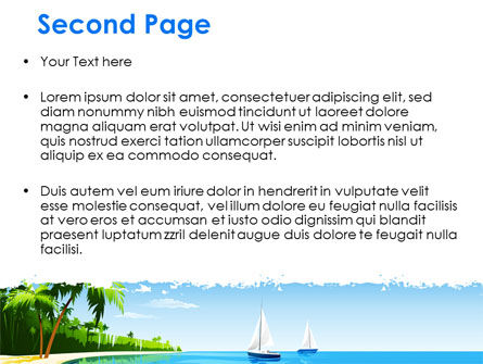 Memorable Vacation Free PowerPoint Template Slide 2