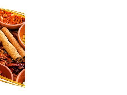 Fragrant Spices PowerPoint Template, Slide 3, 08660, Food & Beverage — PoweredTemplate.com