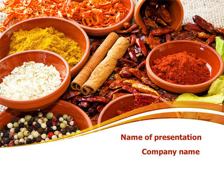 Fragrant Spices PowerPoint Template