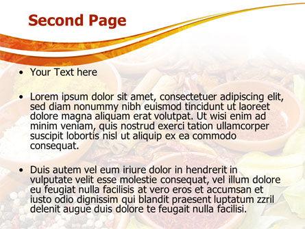 Fragrant Spices PowerPoint Template, Slide 2, 08660, Food & Beverage — PoweredTemplate.com