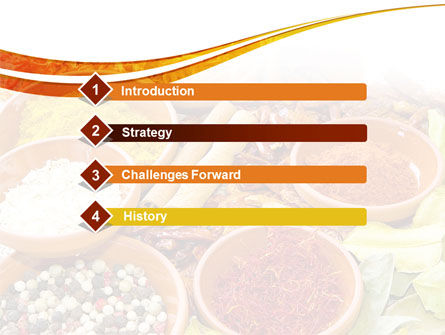 Fragrant Spices PowerPoint Template Slide 3