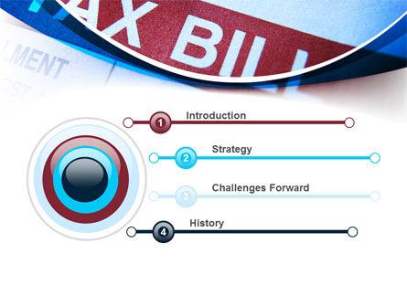 Tax Bill PowerPoint Template Slide 3