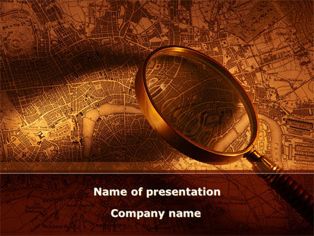 Location Map PowerPoint Template, 08662, Careers/Industry — PoweredTemplate.com