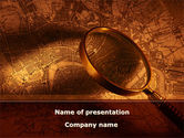 Careers/Industry: Location Map PowerPoint Template #08662