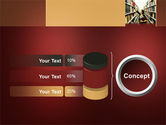 Bookshelves of Library Free PowerPoint Template#11