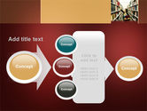 Bookshelves of Library Free PowerPoint Template#17