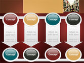 Bookshelves of Library Free PowerPoint Template#18