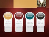 Bookshelves of Library Free PowerPoint Template#5