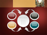 Bookshelves of Library Free PowerPoint Template#6