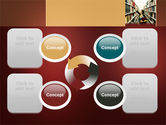 Bookshelves of Library Free PowerPoint Template#9