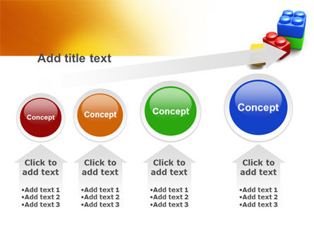 Lego Bricks PowerPoint Template Slide 13